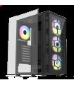 Caixa ATX Fantech HEXA CG73 RGB Preta