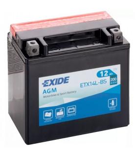 Bateria Exide AGM ETX14L-BS